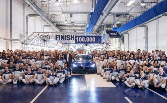 Maserati выпустил 100-тысячный седан Ghibli