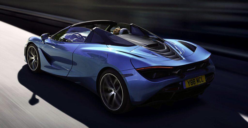 Компания McLaren представила кабриолет McLaren 720S Spider