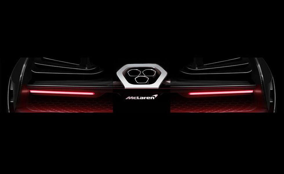 Представлен новый тизер экстремального гиперкара McLaren P15
