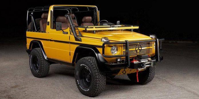 В США продают классический Mercedes-Benz 250GD 1992 года за $90000