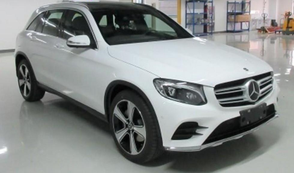 Кроссовер Mercedes-Benz GLC получил удлиненную версию GLC-L