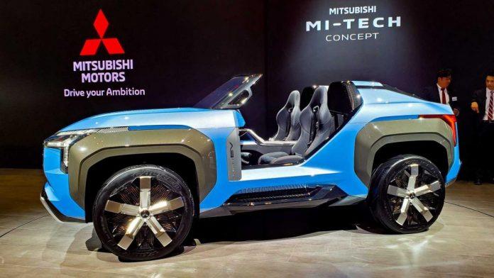 Mitsubishi готовит новый компактный кроссовер