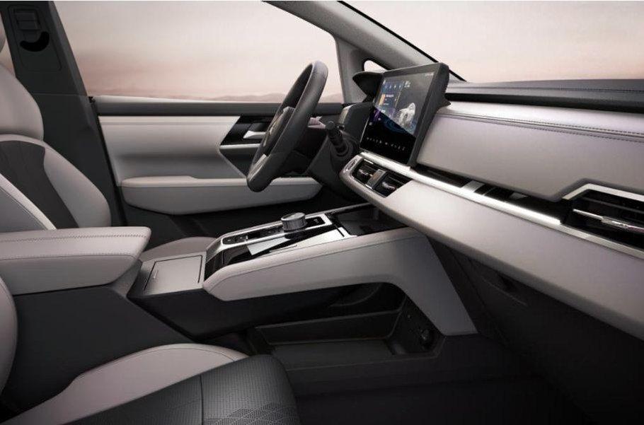 Mitsubishi показала для Китая новый электрический кроссовер Airtrek