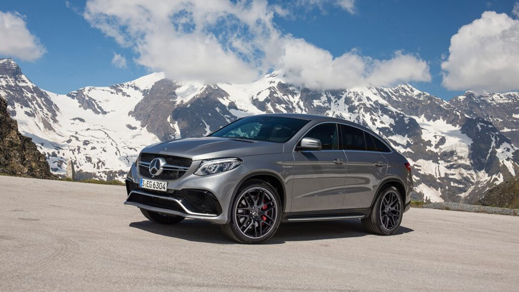 В России начались продажи нового Mercedes-Benz GLE Coupe
