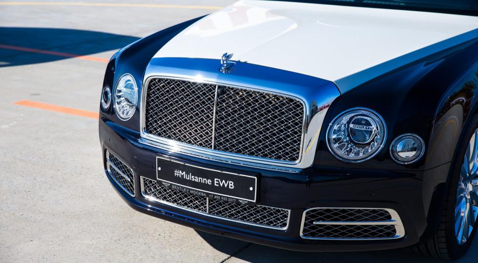 Bentley в РФ презентовала Bentley Mulsanne в новой версии Hallmark