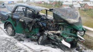 Жесткое ДТП «BMW» и «Москвича» произошло на трассе Лермонтов – Черкесск