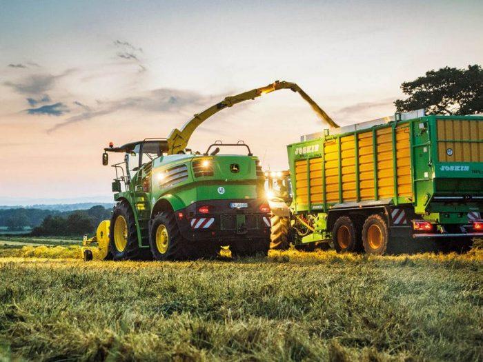 Виды современной сельскохозяйственной техники и ее применение