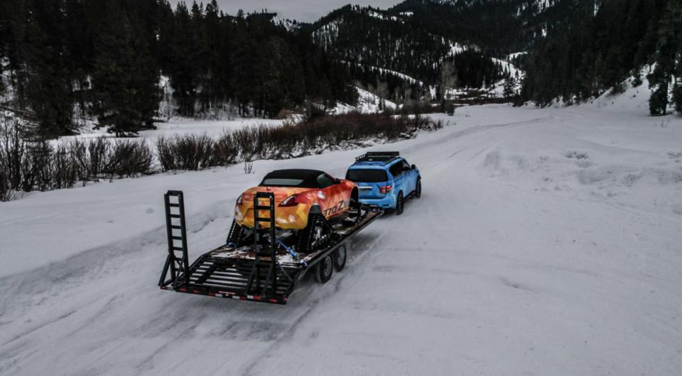 Nissan Patrol получил экстремальную «снежную» версию