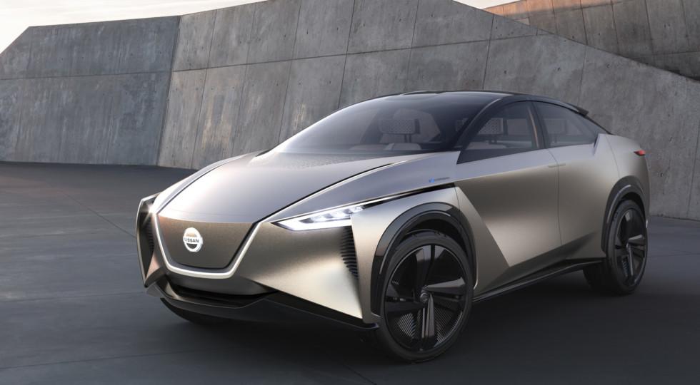 Nissan анонсировала выпуск нового серийного электрического кроссовера