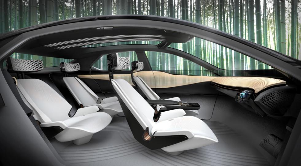 Nissan представила новый концепт кроссовера Nissan IMx KURO
