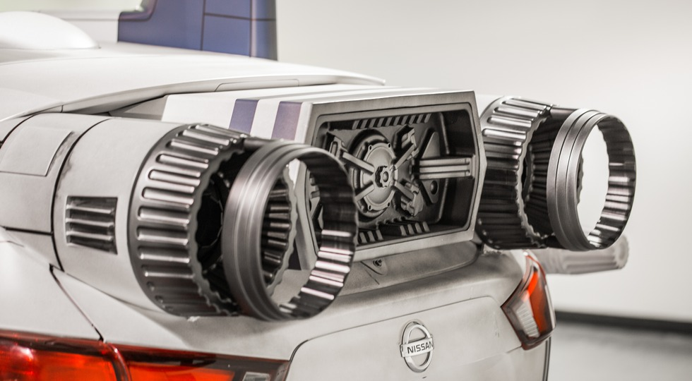 Nissan показала несколько прототипов в стиле «Звездных войн»