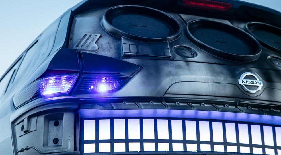 Представлен кроссовер Ниссан X-Trail встиле «Звездных войн»