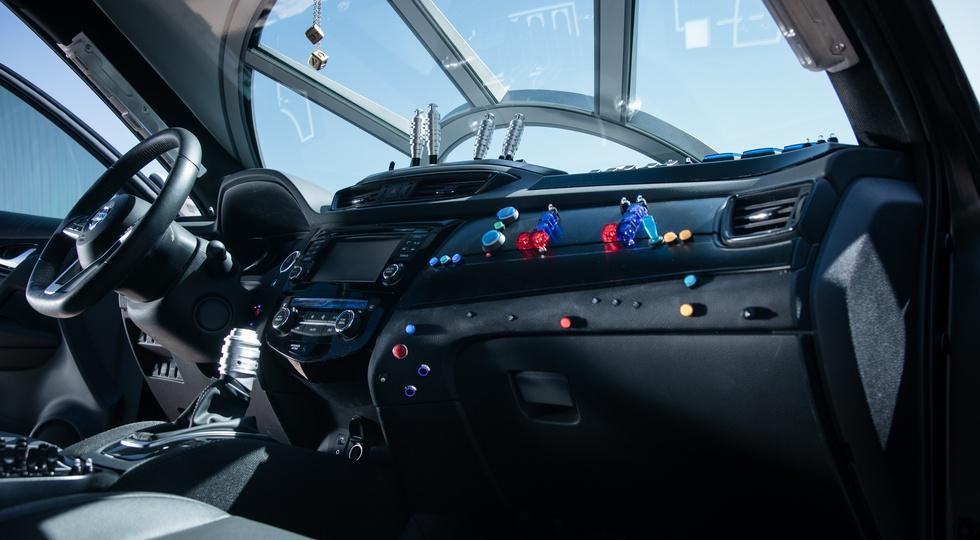 Nissan Rogue получил версию в стиле космического корабля Хана Соло