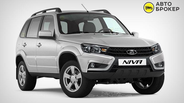 В Сети представили каким будет внедорожник Lada Niva