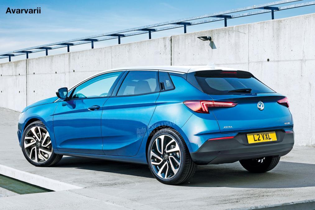 Новое поколение Opel Astra выйдет на рынок в 2021 году