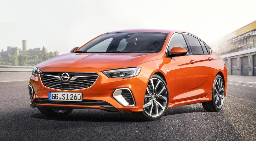 Дилеры Opel в Европе начали продажи «заряженной» версии Insignia GSi
