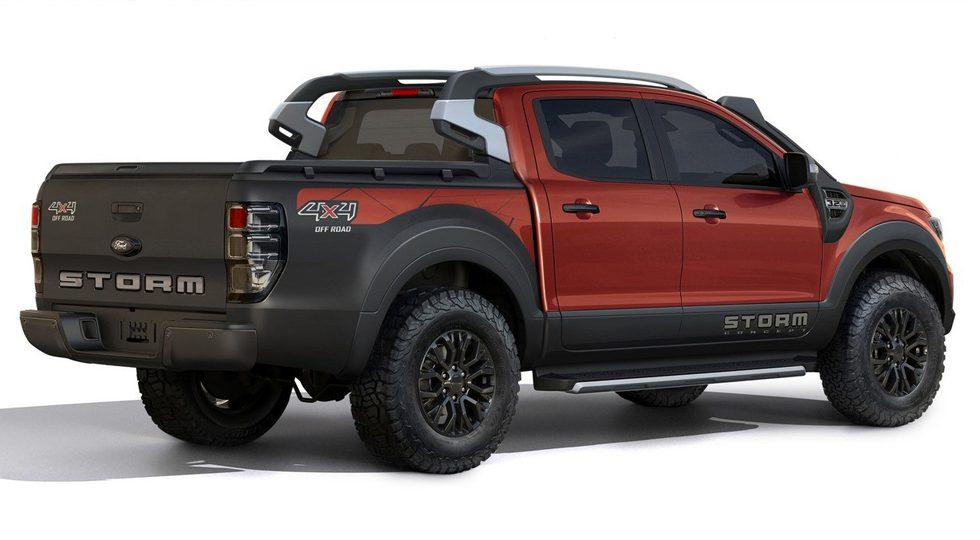 Компания Ford презентовала Ford Ranger Storm в Бразилии