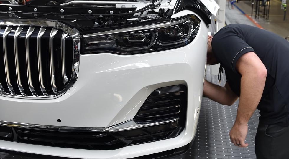 BMW представит новый серийный кроссовер BMW X7 в ноябре 2018 года