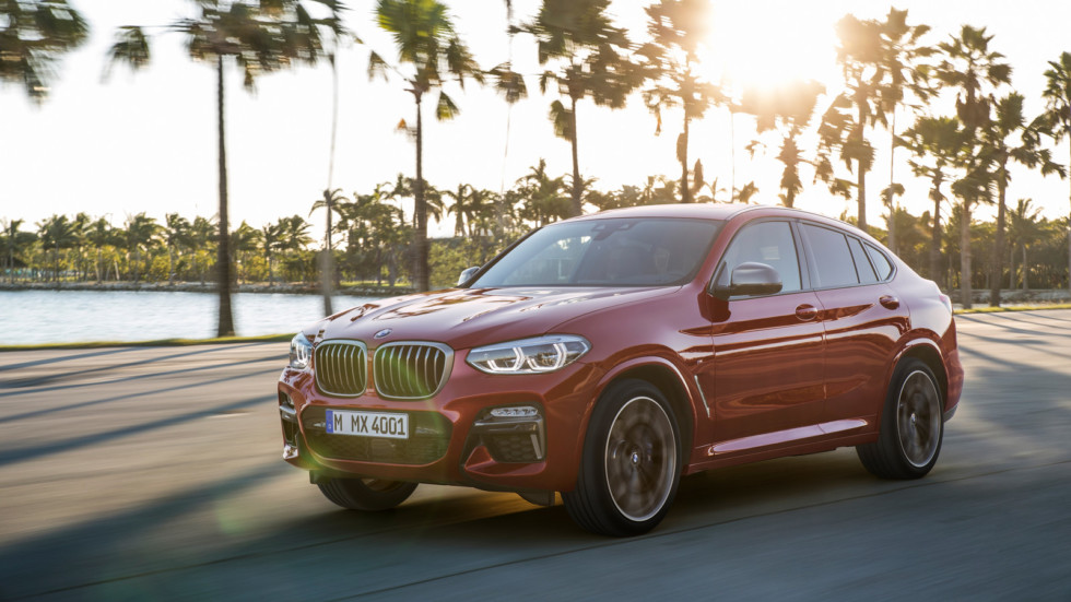 Новый кроссовер BMW X4 официально представили в России