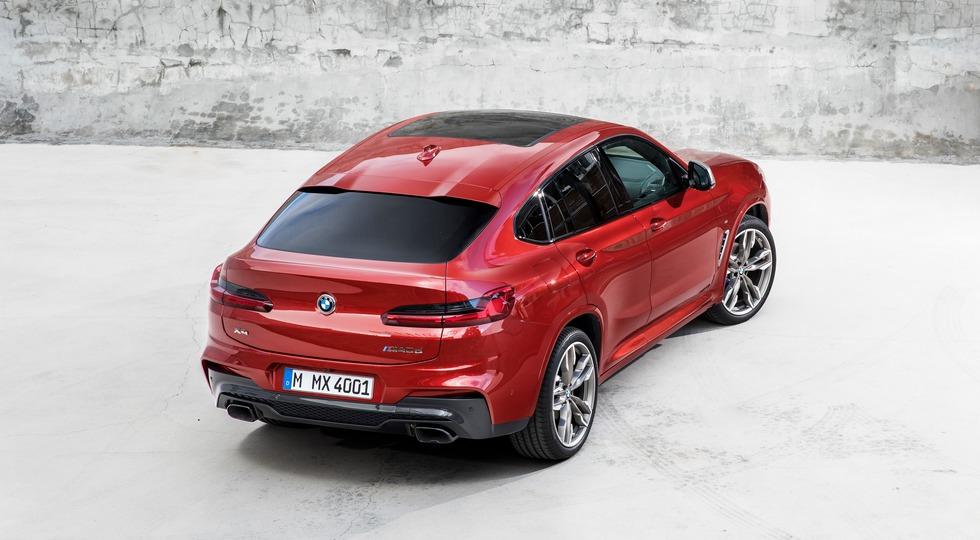 BMW представила новое поколение купеобразного кроссовера BMW X4