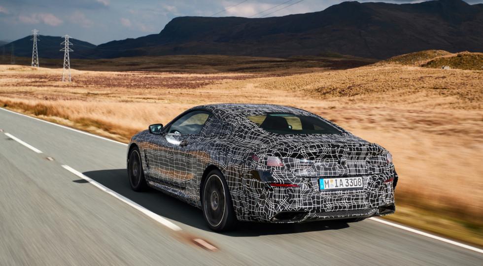 Новое купе BMW M850i xDrive Coupe оснастят 530-сильным двигателем