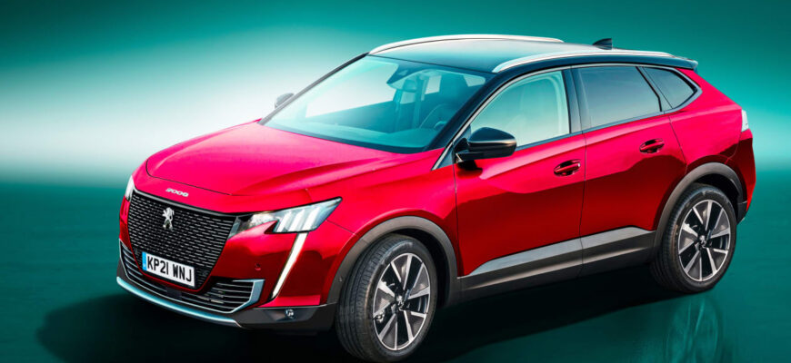 Новый Peugeot 3008 в 2022 году может превратиться в кросс-купе
