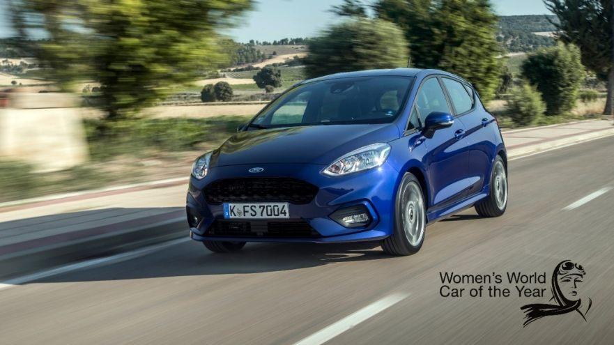 Ford Fiesta признан самым лучшим женским автомобилем в мире