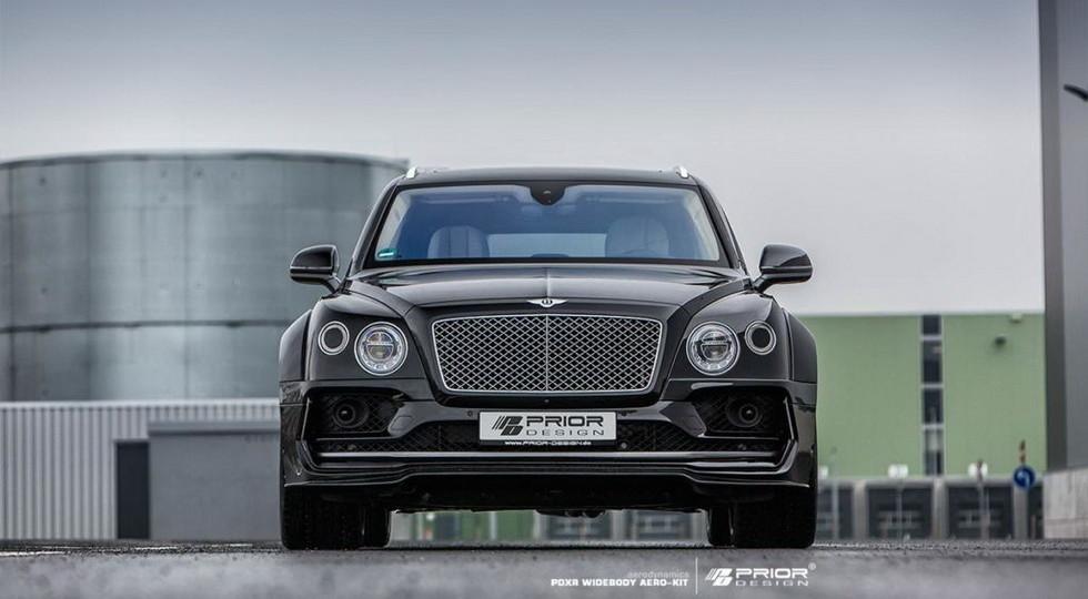 Тюнинг-ателье Prior Design показало «заряженный» Bentley Bentayga