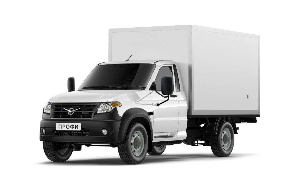 УАЗ начал продажи промтоварной версии фургона УАЗ «Профи»