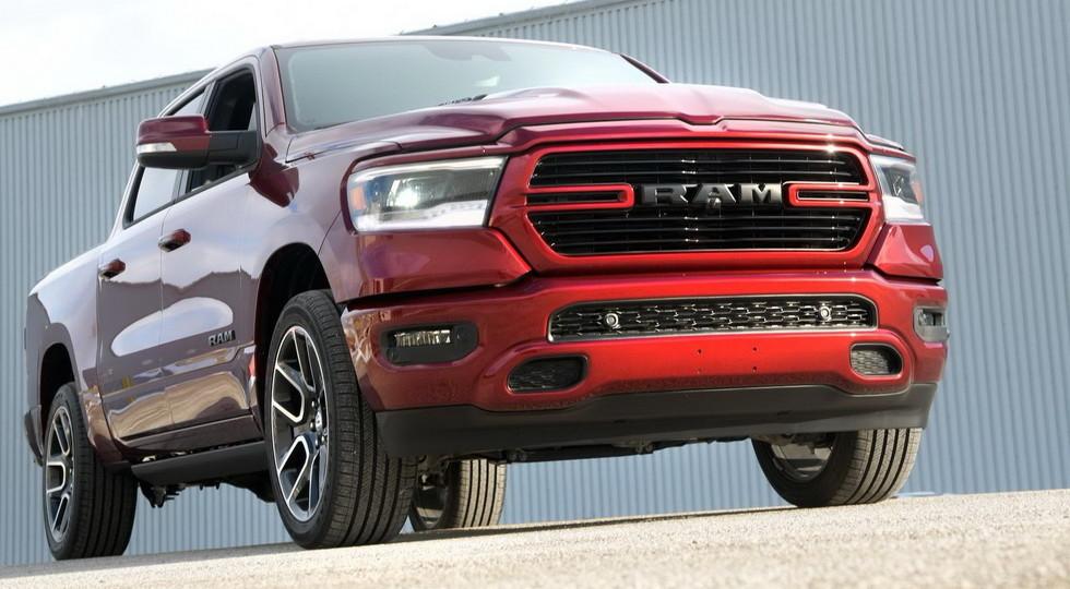 Официально представлена спецверсия Sport для нового пикапа Ram 1500
