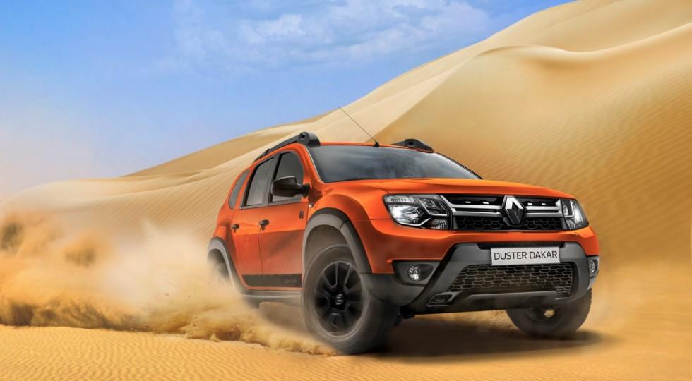 Renault представила обновленную спецверсию Duster Dakar для РФ