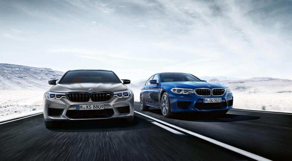 BMW официально представила «заряженный» седан BMW M5 Competition