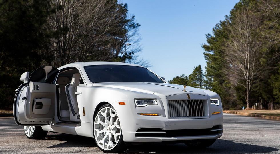RoadShow International представило спецверсию купе Rolls-Royce Wraith