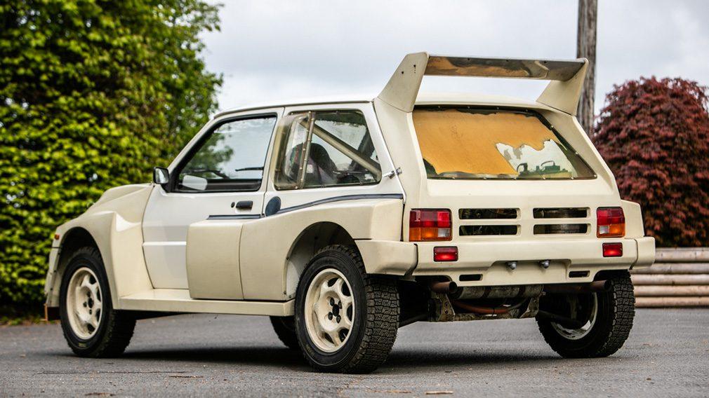 Уникальный MG Metro 6R4 1986 без пробега продадут на аукционе