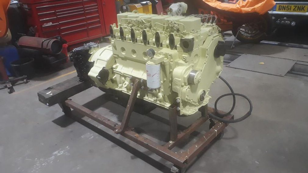 Старая Toyota Supra получила двигатель от «КамАЗа»