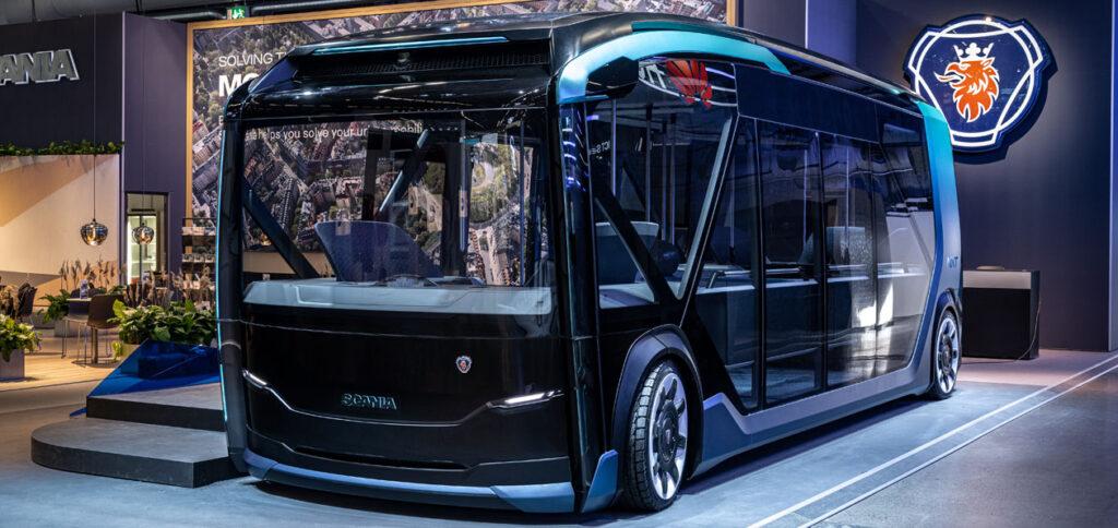 Scania разработала городской электрический транспорт будущего