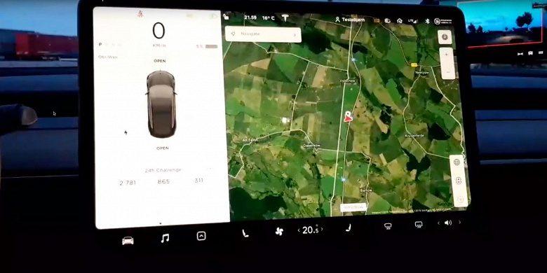 Водитель Tesla Model 3 установил новый рекорд, проехав за сутки 2781 км