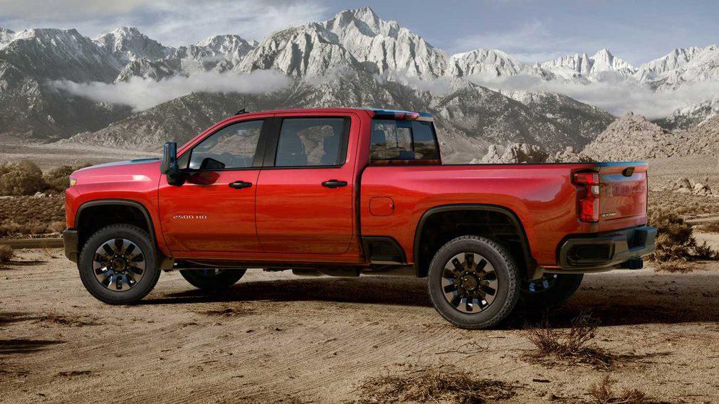 Пикап Chevrolet Silverado HD 2020 модельного года получил двигатель V8