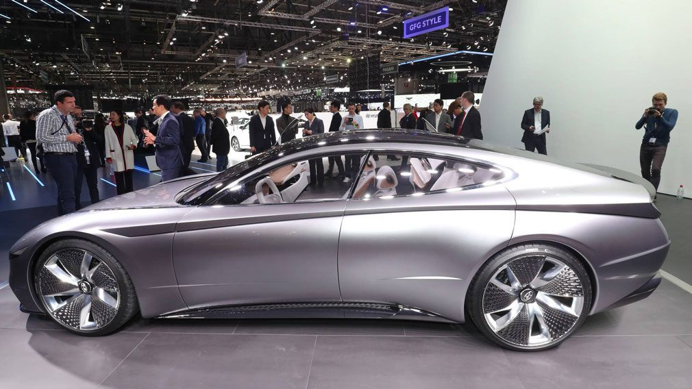 Новый Hyundai Sonata получит дизайн от концепта Le Fil Rouge