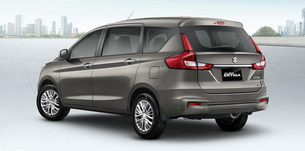 Новое поколение компактвэна Suzuki Ertiga рассекретили до премьеры