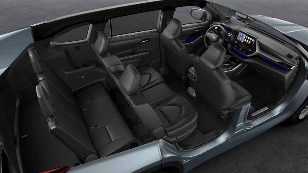 Toyota начала продавать в Европе гибридную версию 7-местного внедорожника Highlander
