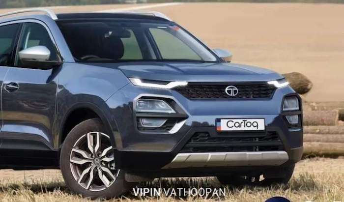В Сети представлены рендеры конкурента Hyundai Creta от Tata