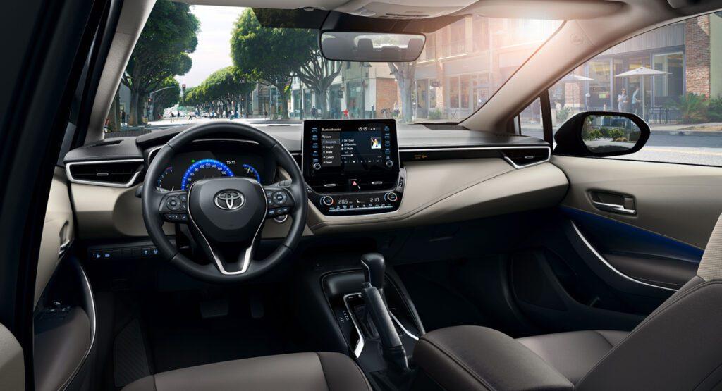 Новая Toyota Corolla доедет до России в начале весны