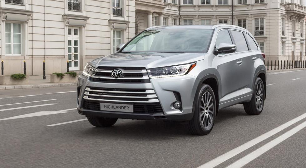 Toyota Highlander в России получил новую «бюджетную» версию