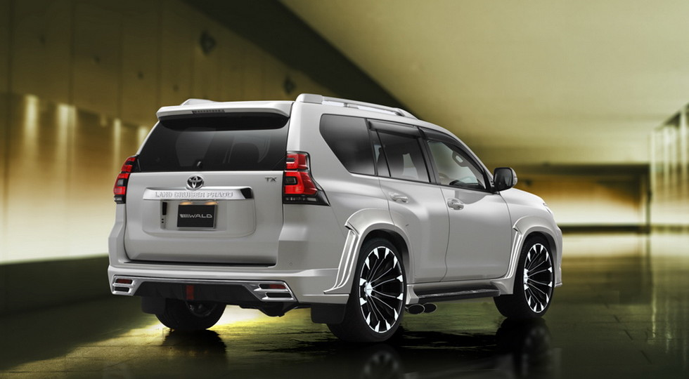 Ателье Wald «прокачало» Toyota Land Cruiser Prado и Harrier class=