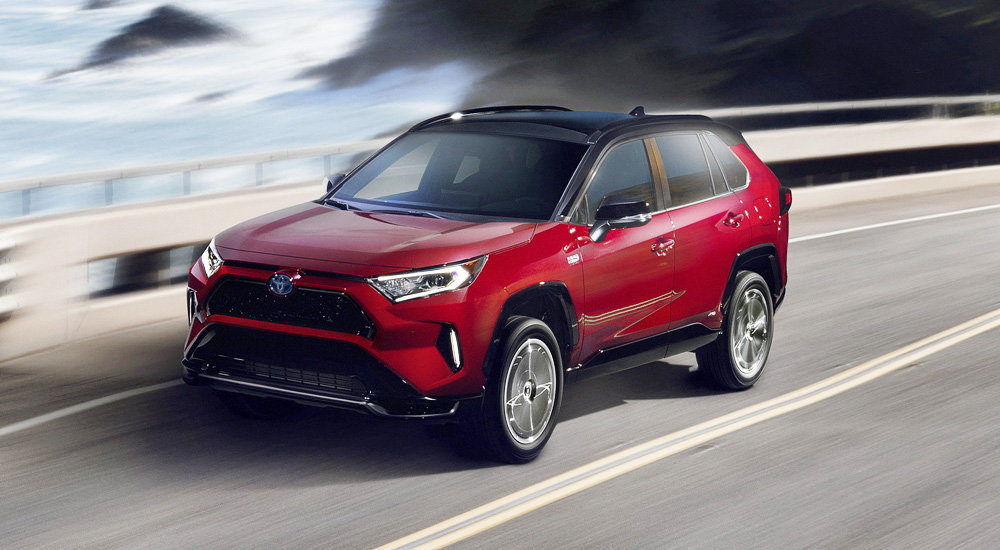 Toyota начала продажи самого мощного варианта Toyota RAV4 Prime