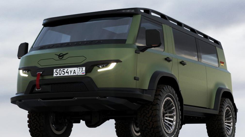 Ульяновский автозавод показал в сети изображения будущего автомобиля УАЗ