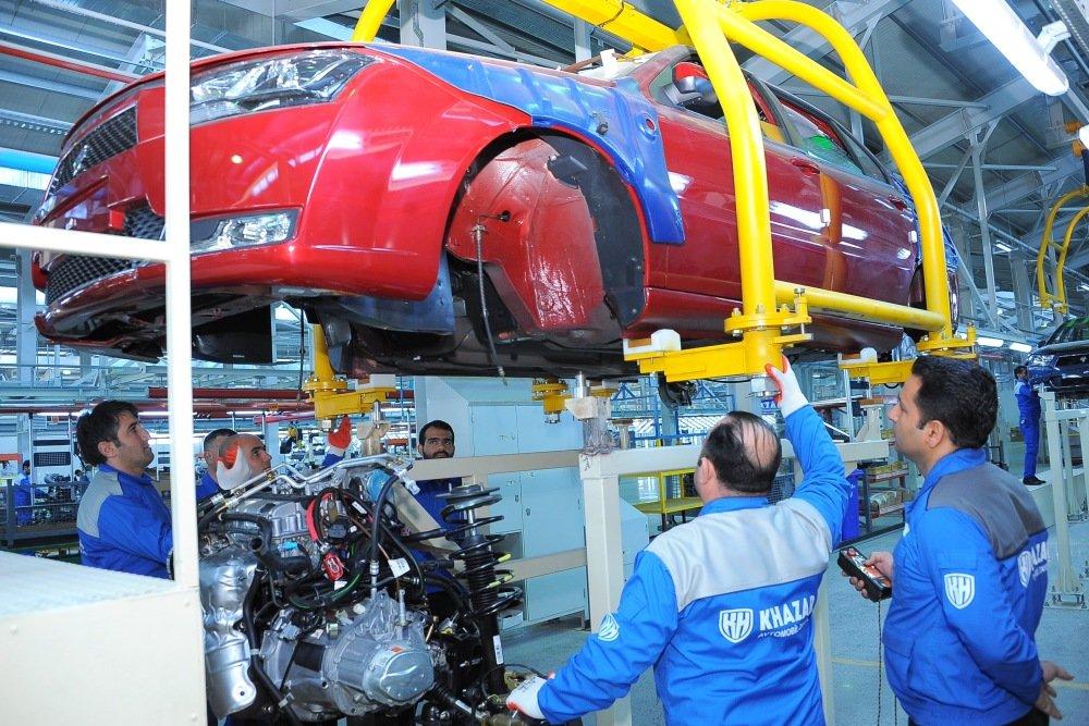 В Россию привезут новые седаны Khazar за 500 000 рублей