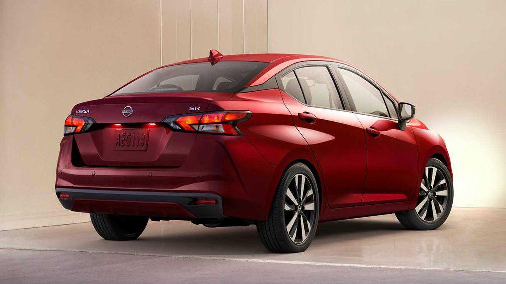 Компания Nissan презентовала седан Versa нового поколения