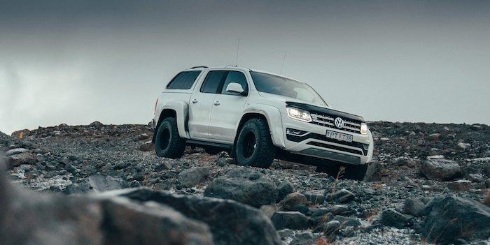 Представлен Volkswagen Amarok с кофеваркой для бездорожья и холода